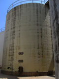 konkret silo Arkivbilder