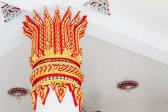 Konkret skulptur i templet Royaltyfri Fotografi