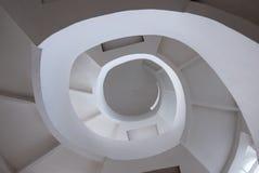 Konkret spiral trappa Arkivfoton