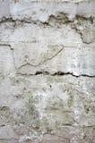 konkret sprucken vägg Royaltyfri Fotografi