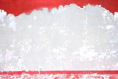 konkret sprucken vägg Royaltyfria Bilder