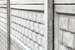 konkret staket Bakgrund N?ra ?vre f?r staket arkivbilder