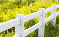 konkret staketwhite Fotografering för Bildbyråer