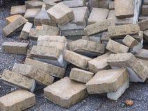 Konkret stenläggninggrå färgtextur Royaltyfria Foton