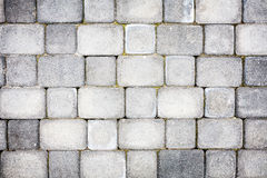 Konkret stenläggningtextur Royaltyfri Bild
