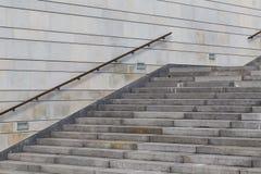 konkret trappa Fotografering för Bildbyråer