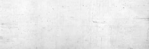 Konkret vit eller cementvägg arkivbild