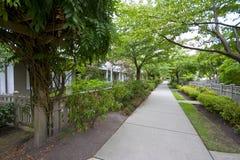 konkret walkway royaltyfri fotografi
