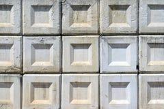 Konkreta block Arkivfoto