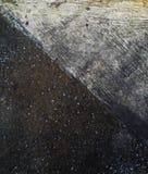 Konkreta fördelar av vit- och svartbakgrund Royaltyfria Foton