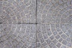 Konkreta golvtegelplattor Arkivfoto