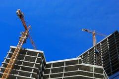 Konkrete Baustelle Stockfotografie