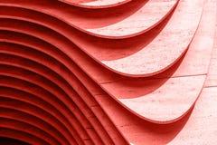 Konkrete Beschaffenheit und Hintergrund der Wand Coral Color Background lizenzfreie stockfotografie