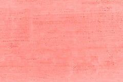Konkrete Beschaffenheit und Hintergrund der Wand Coral Color Background stockbilder