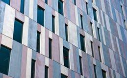 Konkrete Fassade eines Bürohauses Stockfotografie
