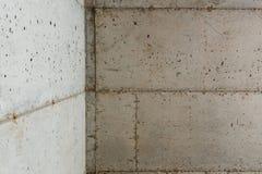 Konkrete Grundlage eines neuen Hauses Lizenzfreie Stockbilder