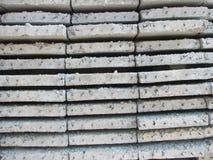 Konkrete Platten für den Fußboden Lizenzfreies Stockfoto