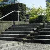 Konkrete Schritte Lizenzfreies Stockbild