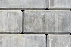 Konkrete Stützmauer-Zusammenfassung Stockfoto