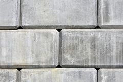 Konkrete Stützmauer-Zusammenfassung Stockbild