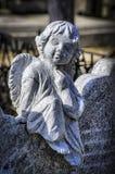 Konkrete Statue Lizenzfreie Stockfotos