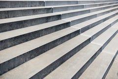 Konkrete Treppenperspektive Stockfotos