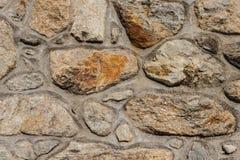 Konkrete und Steinwand Lizenzfreies Stockbild