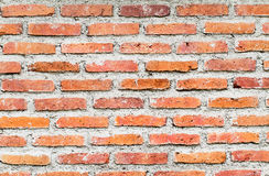 Konkreter Backsteinmauerhintergrund des Schmutzes Stockbild