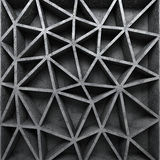 Konkreter strukturierter poligon Muster-Wandhintergrund Stockbilder