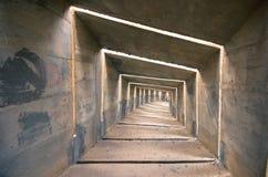 Konkreter Tunnel lizenzfreies stockbild