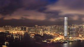 Konkreter Wald für beide Seite von Hong Kong Lizenzfreie Stockfotografie
