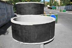 Konkretes Circle Pit Stockbild