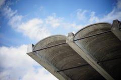 Konkretes Dach Stockbilder