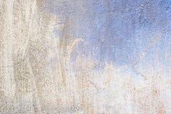 Konkretes halbes blaues Grau des alten Hintergrundes Lizenzfreies Stockbild