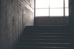 Konkretes Treppenhaus lizenzfreies stockbild