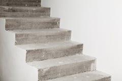 Konkretes Treppenhaus im Bau Lizenzfreie Stockbilder