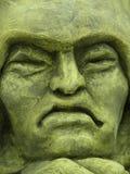 konkretną twarz obraz royalty free