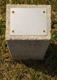 konkretny kamień Zdjęcie Stock