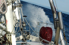konkurencja żeglując Fotografia Royalty Free