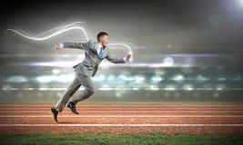 Konkurencyjny biznes obraz royalty free