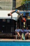 Konkurenta basenu Nurkowi mistrzostwa Zdjęcie Royalty Free