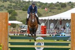 Konkurrens för HIPICO-hästbanhoppning Royaltyfria Foton