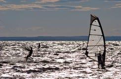 konkurrens vindsurfar fotografering för bildbyråer