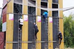 Konkurrenser på räddningsaktionsport Royaltyfri Foto