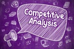 Konkurrenskraftig analys - affärsidé Royaltyfri Bild