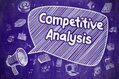 Konkurrenskraftig analys - affärsidé Royaltyfri Foto