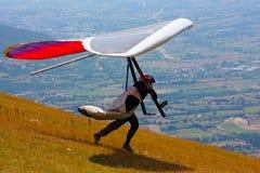 Konkurrent holländischen Gleitencom der Bedeutung Open-2010 Stockbild