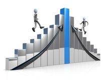 Konkurrenz stock abbildung