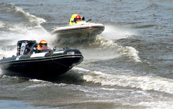 Konkurrenz der Boote stockfoto