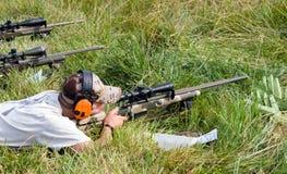 Konkurrenz der Nächstenliebe-3-Gun stockfoto